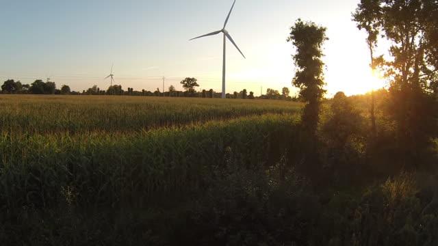 Renewable Energy In A Wind Turbine video