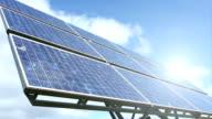 Renewable Energy - Solar Panel, Time Lapse video