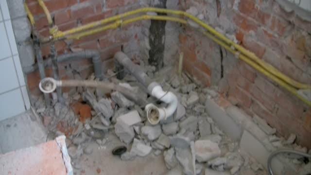 Renovating bathroom 6 video