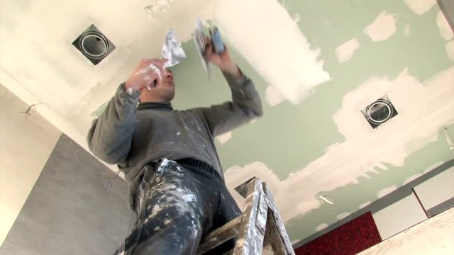 renovation - gypsum finish video