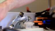 repairing the faucet video
