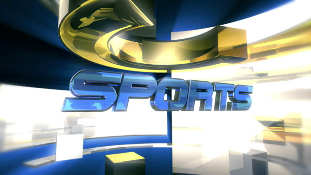 SPORTS Report Graphic Animation (HD) video