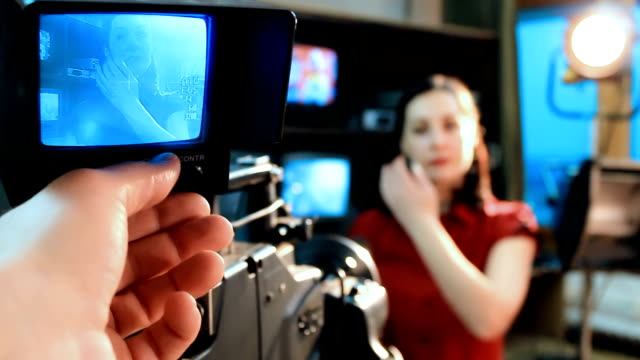 TV Reporter Interviews video