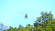 Rescue helicopter rise up video