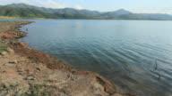 Reservoir and cloudscape video