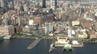 Residential Apartment Buildings Aerial video