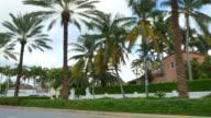 Residential homes on Golden Beach FL video
