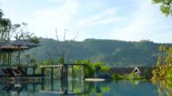 Resort pool video
