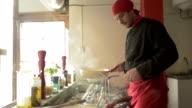 Restaurant Chef in Action video