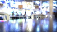 restaurant dinner time lapse video