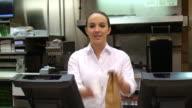 Restaurant Food Worker video