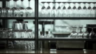 Restaurant scene with shallow depth of field, Amsterdam video