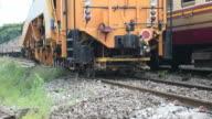 Restoration the railroad tracks video