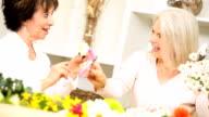 Retirement Leisure Flower Arranging video