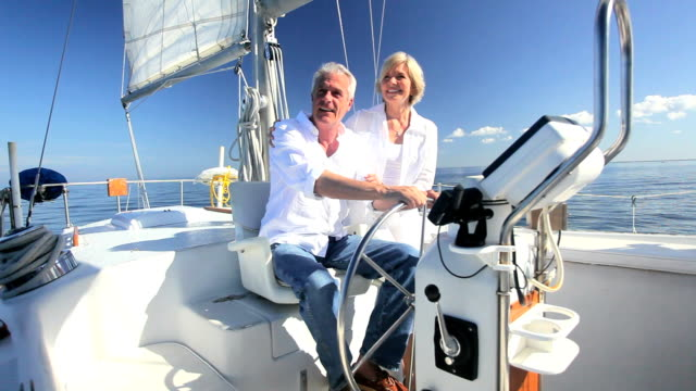 Retirement Outdoor Sailing Lifestyle video