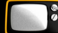 Retro 1970s style TV video
