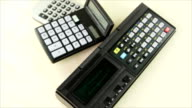 Retro calculators video