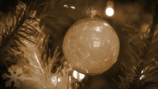 Retro Christmas White Bauble video