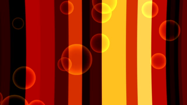 Retro Disco Dance Floor Curved Background With Bubbles video