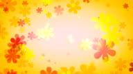retro flower yellow video