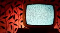 Retro grunge tv video