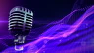Retro Microphone Loop video