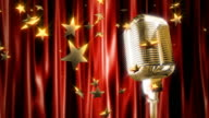 Retro microphone video