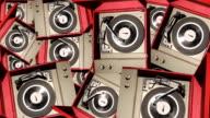 Retro Record Player Background video