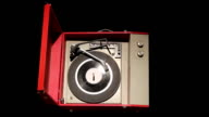 Retro Record Player Luma Matte video