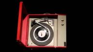 Retro Record Player Luma Matte video