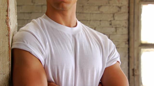 Retro Stylish Man Expresses Confidence video