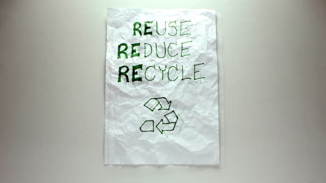 Reuse Paper - (Stop-motion) video