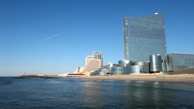 Revel Casino and the Atlantic City Skyline video