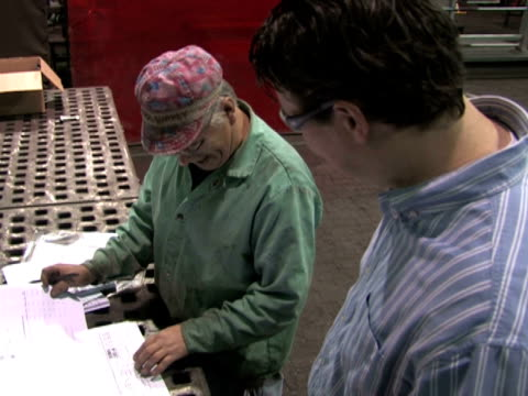 Reviewing Blueprints in Factory 2 video
