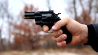Revolver shooting video