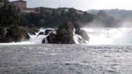 Rhine Falls. Northern Switzerland. Europe. video