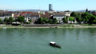 Rhine River - Basel video