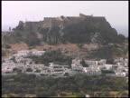 Rhodes, Greece: Acropolis of Lindos Ruins video