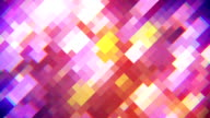 rhombus mosaic abstract loopable background video
