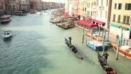 Rialto Bridge in Venice video