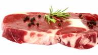 Rib Eye Steak video