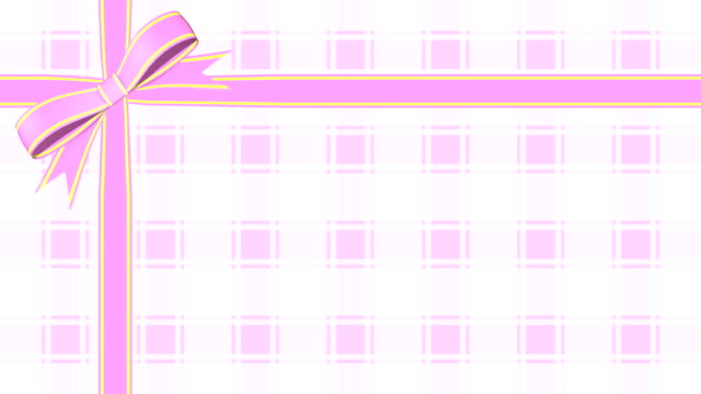 Ribbon wrapping cross plaid 6 colors video