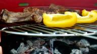 BBQ Ribeye Steak Grilling video