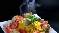 Rice with Chicken or Arroz con Pollo video