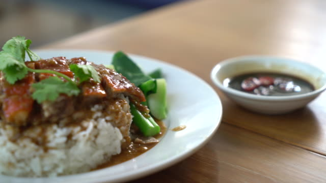 Rice with roast duck video