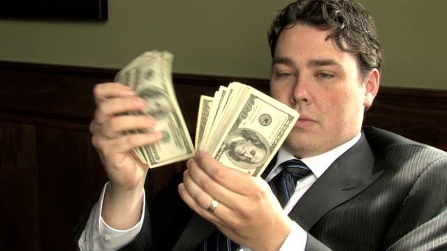 Rich Guy Counts Money 2 video