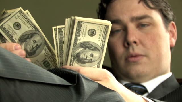 Rich Guy Counts Money 4 video