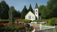 Richmond Chapel Garden dolly shot video