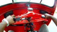 Rickshaw driving video