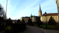 Riddarholm Church, One Of Oldest Building In Stockholm, Sweden video